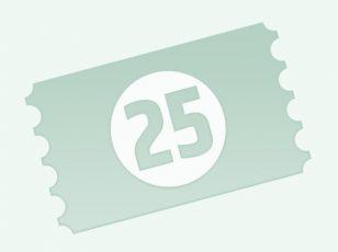 25er Punktekarte