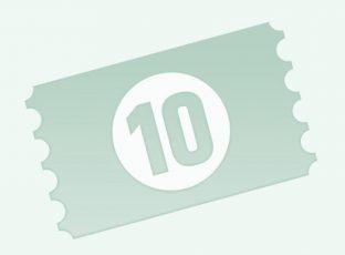 10er Punktekarte